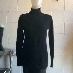 Lululemon black turtleneck sweater sz 6 61648